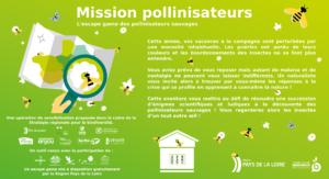 Accueil Mission pollinisateurs, l'escape game des pollinisateurs sauvages